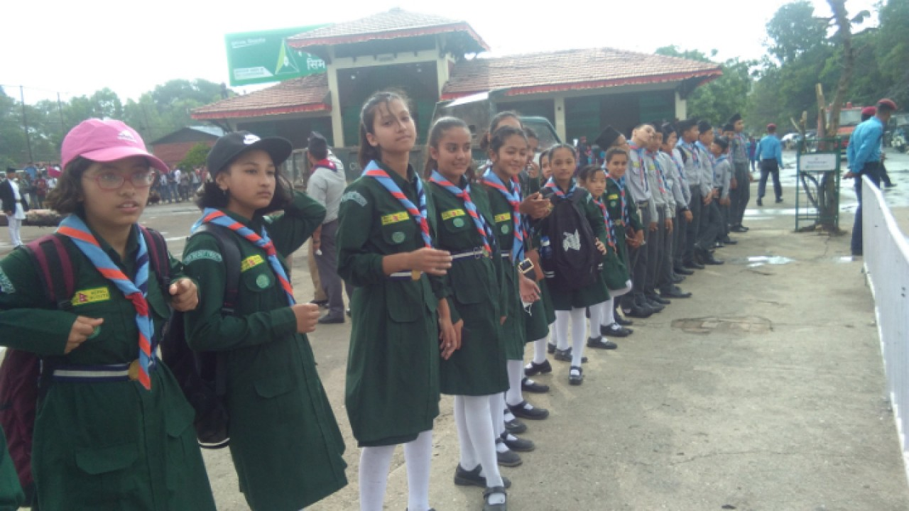 Nepal Scout (Bhoto Jatra) Photo